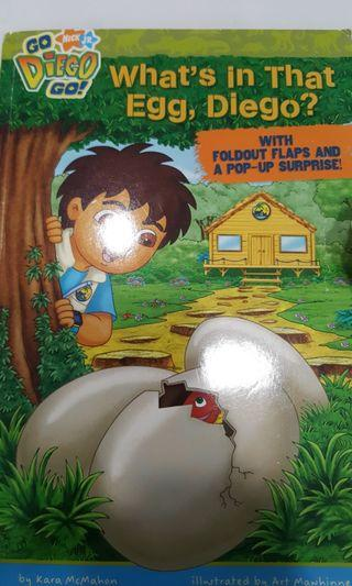 Go Nick JR Diego Go!  What's in the Egg, Diego ?