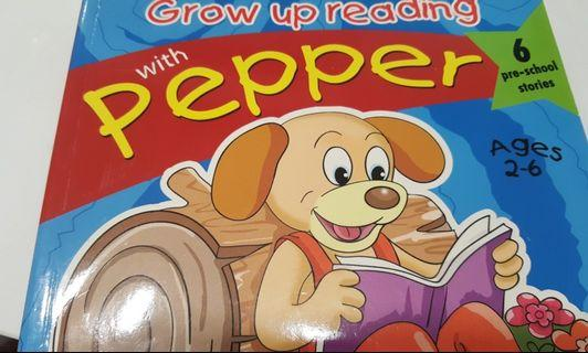 🚚 Grow up reading with Pepper 6 pre-school stories