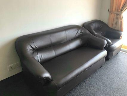 Leather Sofas 1+2+3