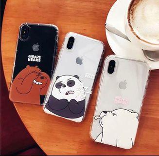 [PO] we bare bare phone case ‼️