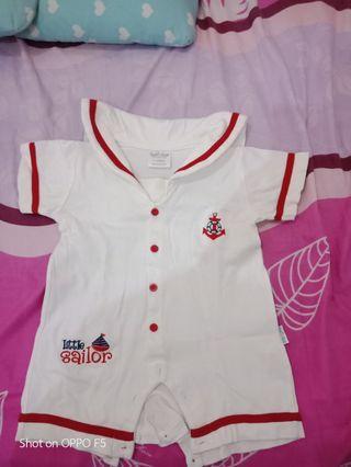 Jumpsuit sailor baby 12-18 months