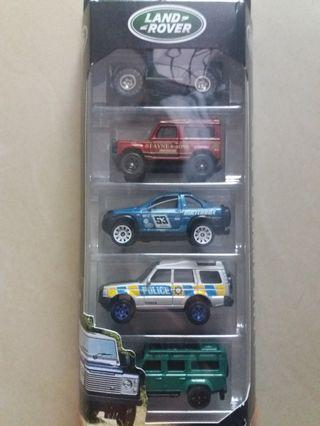 Matchbox Land Rover 5 pack