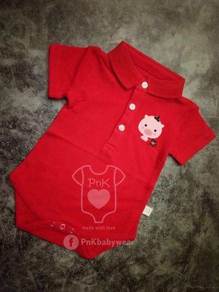 Polo Baby romper (customised)