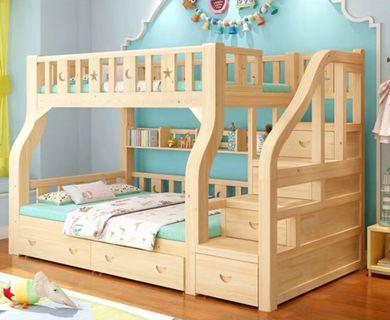 Preorder bunk bed with stair case / deck bed / double bed