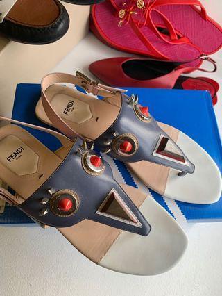 🚚 Fendi Monster Sandals