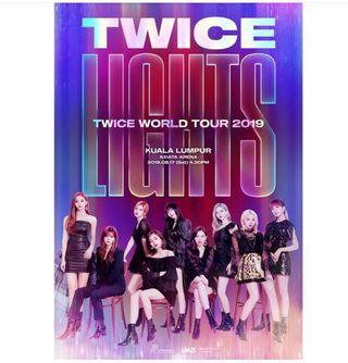 Twice world tour in malaysia