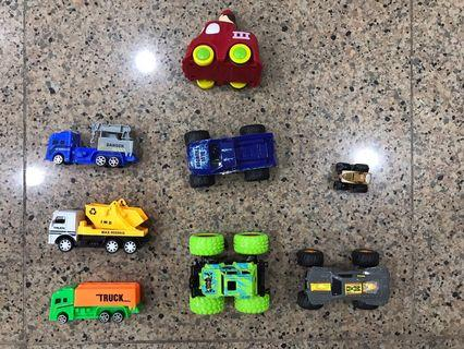 Assorted Used Toy Cars