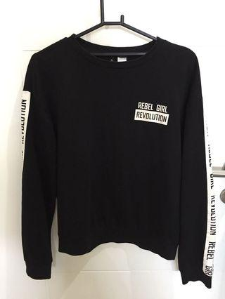 Sweater black H&M