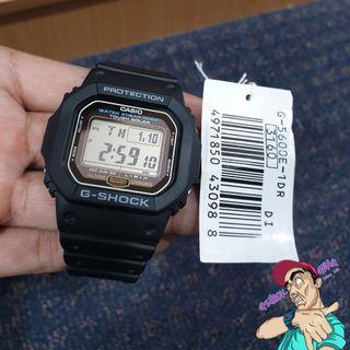 G-SHOCK G-5600E-1 TOUGH SOLAR / G5600 ORIGINAL