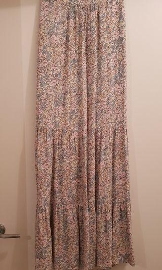 Auguste Tiered Maxi Skirt Size 6