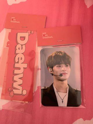 🚚 WTS DAEHWI FANSITE PHOTOCARDS+ sticker set