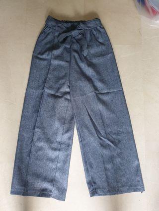 🚚 BN Greyish Blue Culottes