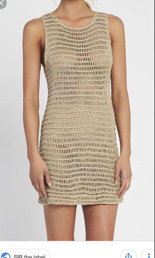 LOOKING FOR SIR THE LABEL EDIE DRESS
