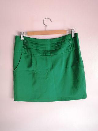 VeryVery Green Skirt