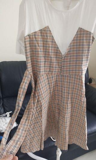 🚚 Checkered Dress