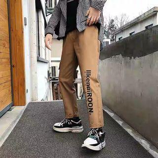 韓國復古古著工裝長褲 男裝