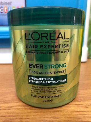 L'Oréal everstrong hair mask