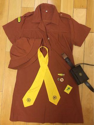 小女童軍服size 32