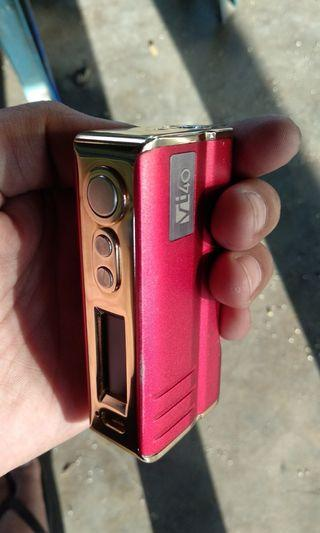 Vape Mod VT40 DNA40 Red/Gold Used