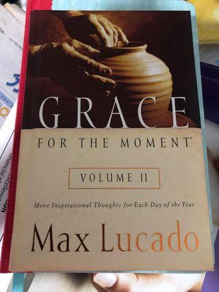 🚚 Grace for the moment by Max Lucado