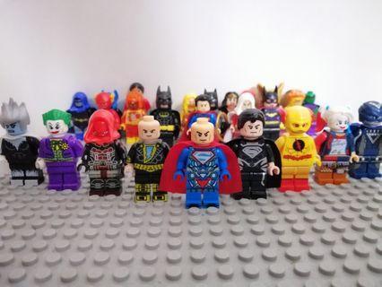 DC Super villains lego Compatible Minifigure