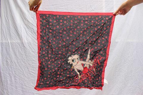 Betty boop scarf