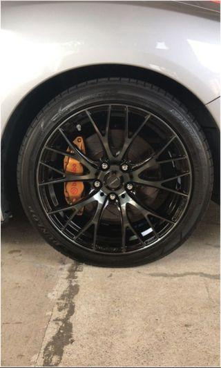 WedsSport Sa20r with tires