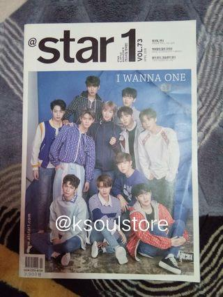 (wts) wanna one 1star magazine