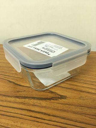 宜家玻璃微波爐食物盒  Ikea microwave glass storage box
