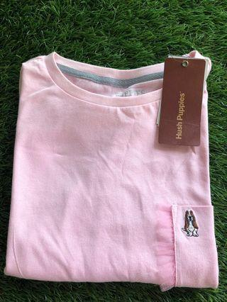 🚚 Beautiful Hush Puppies Pink T shirt