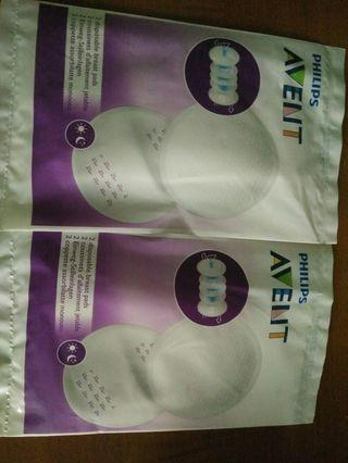 🚚 Philips avent disposable breast pads