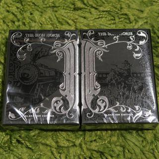 Iron Horse Playing Cards (Black Ink Edition)