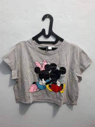 H&M MICKY MOUSE TEE