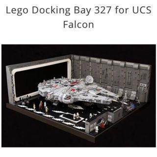**Ready for Shipment** LEGO MOC-0631 Docking Bay 327 for UCS Falcon (7800 pcs)