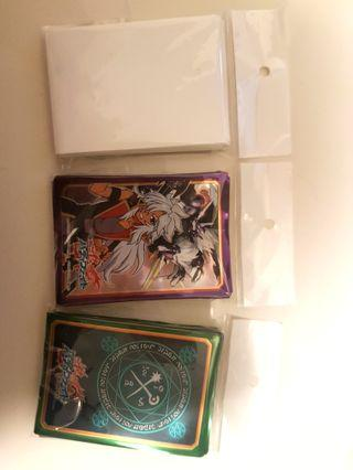 🚚 Vanguard/buddyfight sleeves card protectors