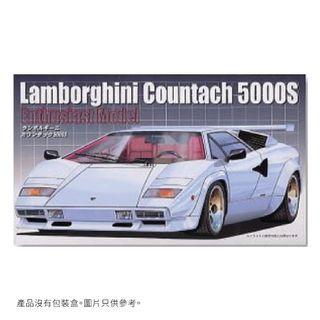 Lamborghini Countach 5000S 模型車