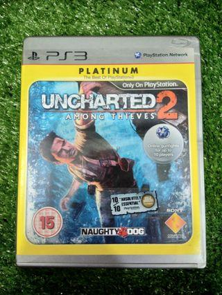 Kaset BD PlayStation 3 PS3 Uncharted 2 Among Thieves