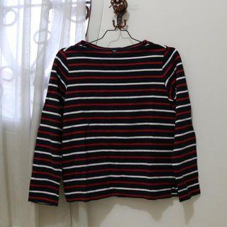 Uniqlo Stripes Sweatshirt
