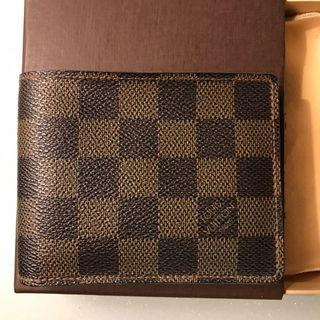 🚚 Pre Loved LV Ebene Damier Multiple Wallet