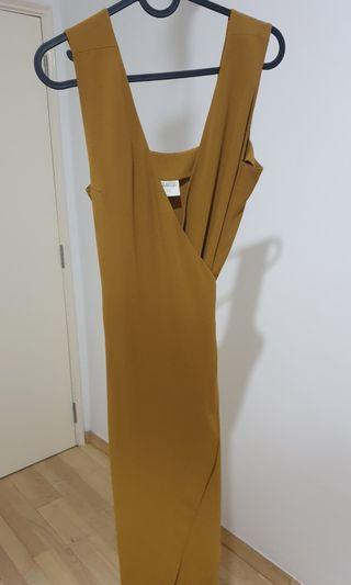 In good company igc crepe wrap dress