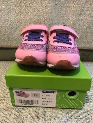 Dr. Kong 粉紅色運動鞋 Pink trainers (Size: 29)