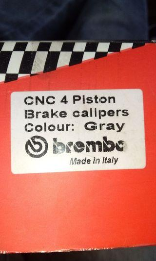 Brake calipers brand bembo..copy ori..4 pot