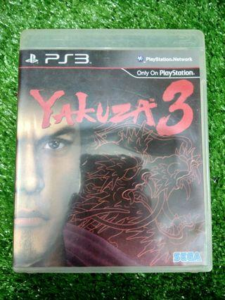 Kaset BD PlayStation 3 PS3 Yakuza 3