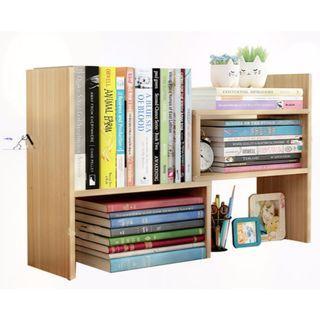 Adjustable Desktop Bookshelf
