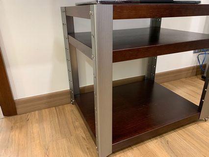 Custom made TV rack