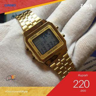 Casio B550 Gold Classic