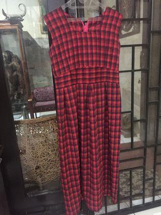 Dress Panjang merah