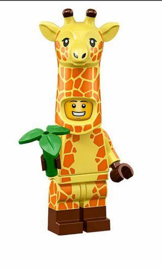 Lego Minifigures Giraffe Sealed