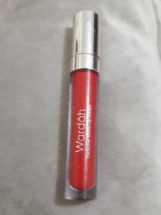 Wardah Matte Lip Cream #1 red-dicted