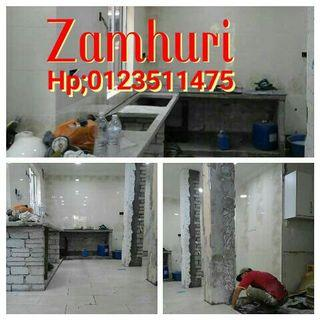 0123511475 zamhuri renovation work plumber